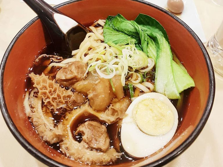 Taiwanese Beef Noodles in Akasaka